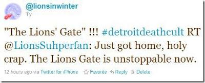 Detroit Lions Draft Twitter Conversation